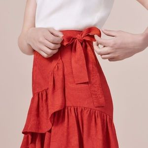Maje Jahima Rouge Skirt